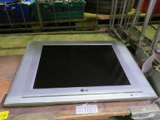 LG flat screen TV - RZ 20LA70 - 240V - no cables