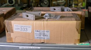 2x Dialight LED Light - Part No WP-2C3H-ALGC with brackets