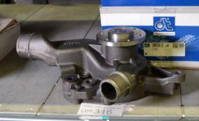 Diesel Technic Water Pump 3.16001