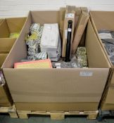 Vehicle parts - air filters, tie rod ends, brake shoe sets, front coil springs, timing bel
