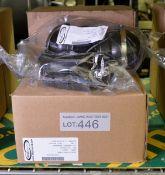 2x Aegisound DC2 Headset Assemblies