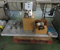 Electrolux Connecting Strip for 9 Ltr Fryer, Electrolux 3 Sided Under-Frame for 1000mm Tab
