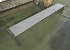 Electrolux Overshelf, Stainless Steel 2000mm