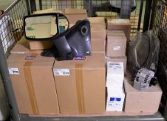 Vehicle parts - brake hose, fuel filter tool, handbrake cable, rear lamp RH, alternator, R