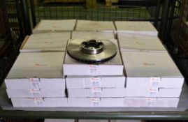 Vehicle parts - brake discs VBD1043 - see picture for itinerary for model numbers and quan