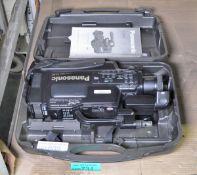 Panasonic NV-M40B VHS Video Camera with Case