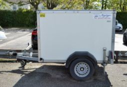 Armitages Box Trailer L 3000mm x W 1700mm x H 1660mm - double door - box section - L 1800m