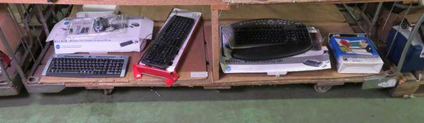 3x Keyboards, JVC capture pack