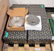 Vehicle parts - brake discs, clutch pads - see picture for itinerary for model numbers and