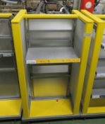 Display Trolley Shelving Unit - L800 x D690 x H1550mm