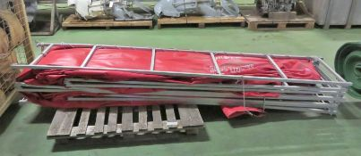 Fol Da Tank foldaway tank assembly - 5000 gallons - 18925 LTRS