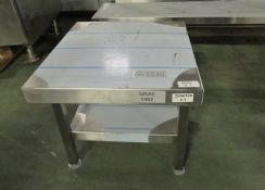 Catering Stainless steel Stand L 500mm x W 450mm x H450mm