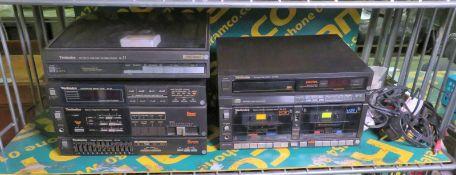 Technics DC Servo Hi-Fi system, speakers, DVD player