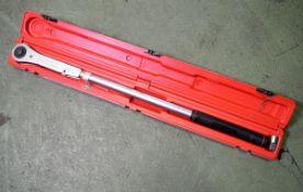 Britool EVTR 3000 Torque Wrench 50-250LB FT