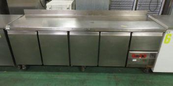TR5-Star-P 4 Door & 1 drawer Counter Refrigerator L 500mm x W 2330mm x H 950mm
