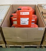 Total transmission Fluid - XS FW 75W80 - 20LTR - 4 bottles, Total GlaceLF Auto Supra - 20L