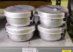 4x Trangia 2 Series 25/27 Outdoor Cook Sets