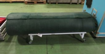 Artificial turf roll - 2000mm wide unknown length on trolley