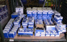 Vehicle parts - relay valve, brake pads, gasket, rod, side marker lamp, range cylinder, pr