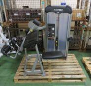Cybex Prestige Strength Arm Curl gym station