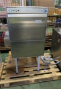 ClassEQ DUO750 Stainless steel Dishwasher with Stand L 600mm x W 600mm x H 1250mm