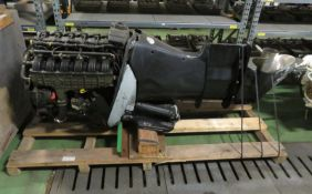 Verado - 300XL L6 outboard engine - model 1300V23ED - serial 1B767606 - HP 300 - kW 221