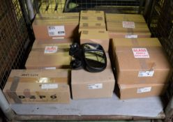 Vehicle parts - rear lamps, LH mirror - see picture for itinerary for model numbers and qu