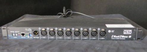Oxo Net box 8 artnet node, 3 pin w/ schucko mains plug