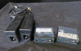 Kramer PT571 and PT572+ HDMI over cat 5 set