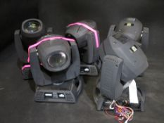 5x Chauvet Rogue R1 beams for SPARES/REPAIRS