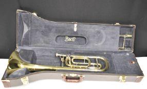 Bach Stradivarius Model 42 Trombone in case - Serial No. 60430/198537 - Please check pho