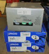 2x Pagid 104 74 6158 and 1x LPR A1401P Brake Disc Sets