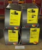4x Bosch Starter Motors - Models - 0 986 013 240, 0 986 017 460, 0 986 0 1324 & 0 986 010
