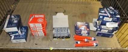 Various Spark & Glow Plugs - Bosch, NGK, Unipart - Please see pictures for examples of mod