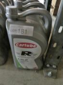 4x Carlube Triple R Fully Synthetic R-TEC 28 5W-40 Motor Oil - 5L (please check pictures f