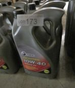 5x G Force Semi Synthetic Engine Oil - 10W-40 A3/B4 - 5L