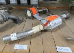 2x Catalytic Converters - BM90797 & BM91465H