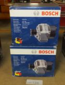 2x Bosch Alternators - Models - 0 986 0 80 440 & 0 986 0 80 380