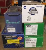 WPS, Fohrenbuhl, Lucas and WAI Starter Motors - Please see pictures for model numbers