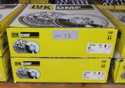 2x LUK Dual Mass Flywheels - Models - 415 0104 10 & 415 0138 10