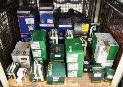 Various Spares - Water Pump, Starter Motor, Alternator, Thermostats, Compressors - Please