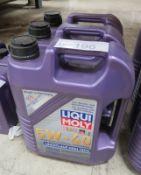 3x Liqui Moly 5W-40 HC Synthetic Motor Oil - 5L
