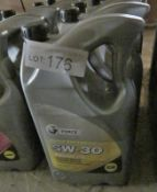 5x G Force Fully Synthetic Engine Oil - 5W-30 C2 - 5L (please check pictures for sell by d