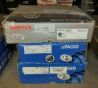 2x Pagid Brake Disc Sets - Models - 55057 & 104 44 1568 & 1x Mintex MDC1825C Coated Brake