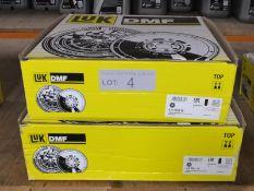 2x LUK Dual Mass Flywheels - Models - 415 0553 08 & 415 0261 10