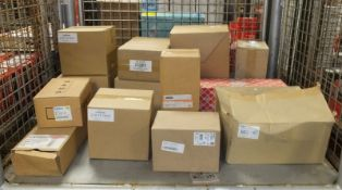 Various Spares - Oil Sumps, Fuel Pumps Filters, Heater Motors, Lamp Assembly - Please see pictures