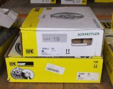 2x LUK Dual Mass Flywheels (1x Schaeffler) - Models - 415 0537 11 & 415 0318 10