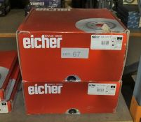 2x Eicher Brake Disc Sets - Models 104 69 0019 & 104 74 5399