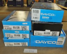 6x Dayco Timing Belt Kits - Please see pictures for model numbers