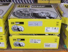 2x LUK Dual Mass Flywheels - Models - 417 0019 11 & 415 0721 08